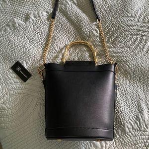INC. . Nwt black bucket handbag